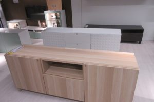 sideboard created from flatpack